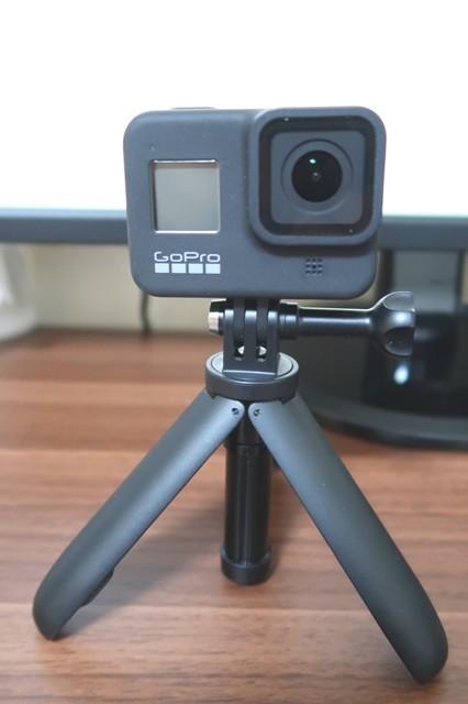 GoProの三脚などのアクセサリー