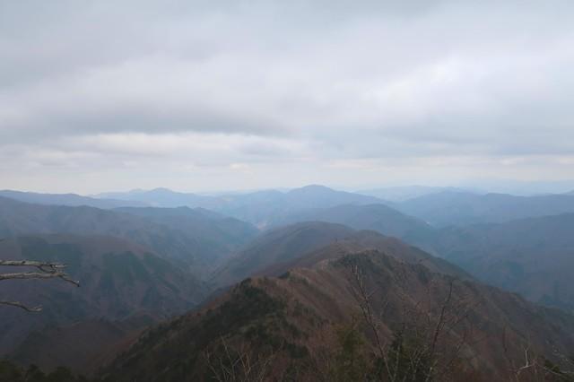 前飛龍山からの景色