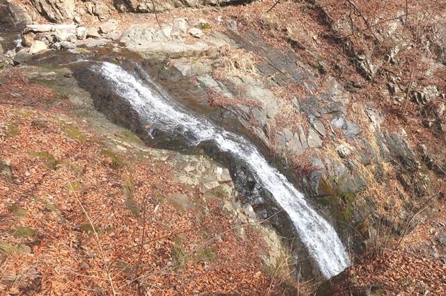 初滝の上部