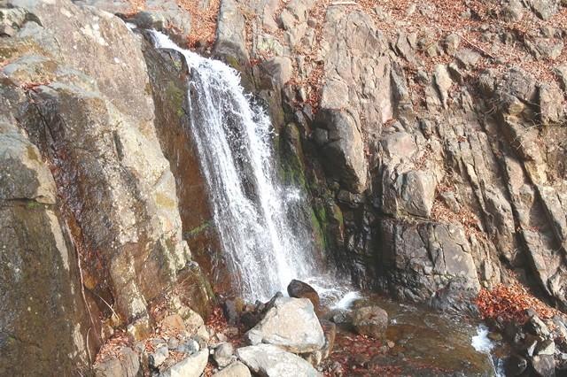 初滝の上段部分