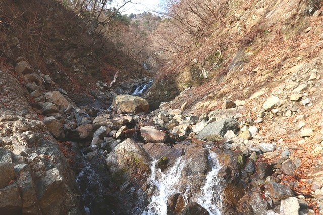 七福ノ滝近くの様子