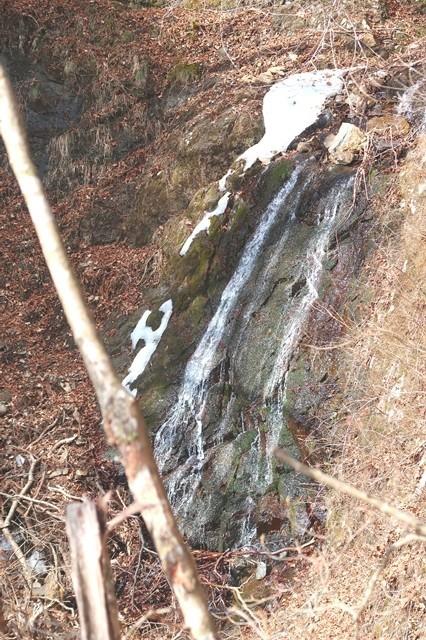 白竜ノ滝水の流れ