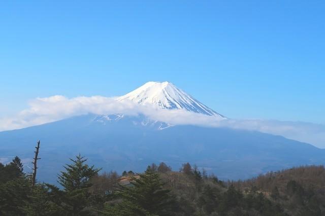三つ峠山からの富士山景色