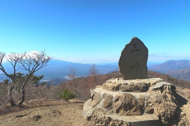 開運山の山頂の様子
