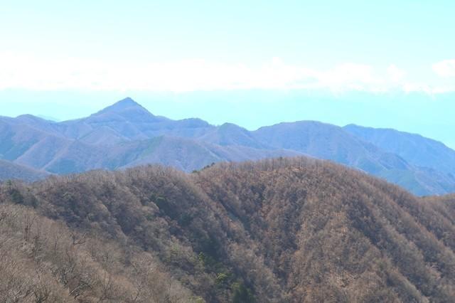 釈迦ヶ岳景色