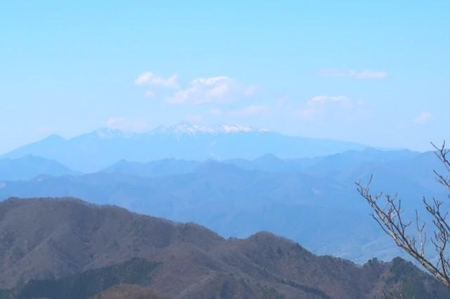 清八山から八ヶ岳景色