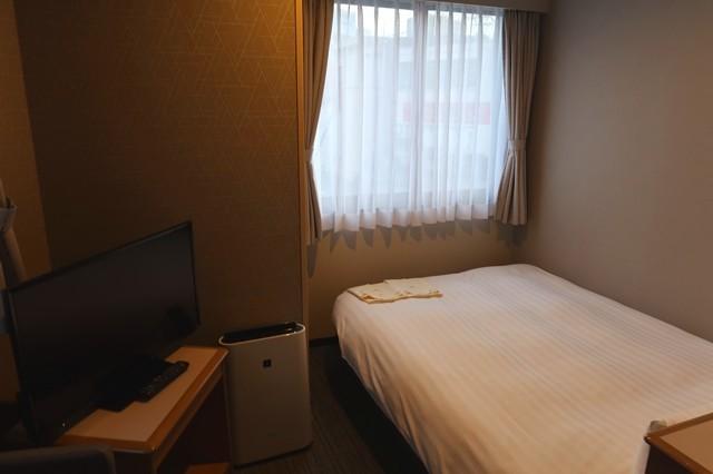 パークイン富山の部屋の様子