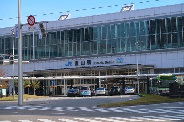 富山駅駅舎