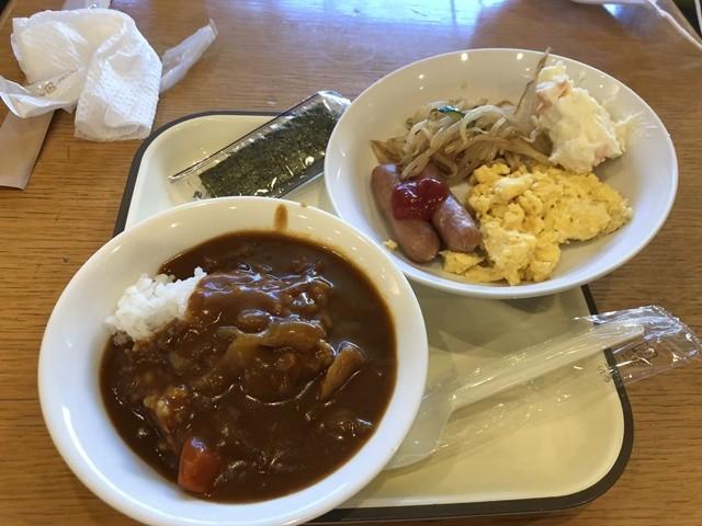 パークイン富山の朝食の様子とおすすめのカレー