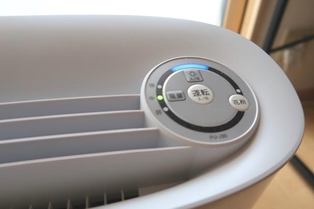 消費電力が低い空気清浄機も問題なく使用出来た様子