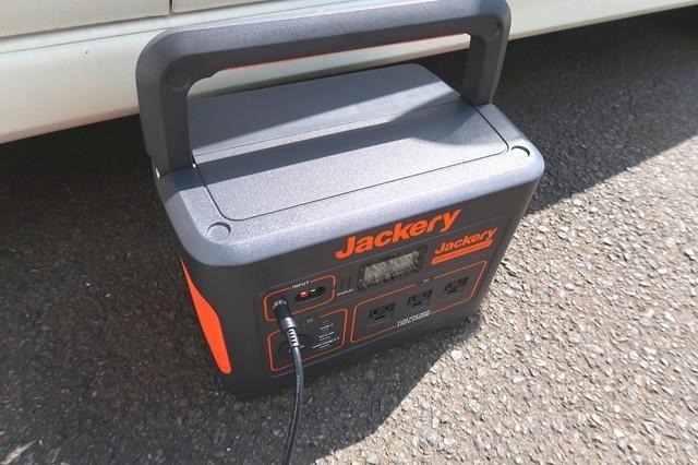 Jackeryポータブル電源は日陰で保管が良い