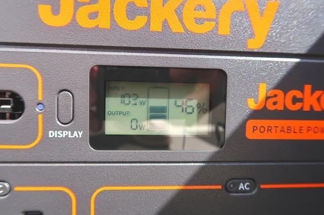 Jackeryソーラーパネル100の発電量をレビュー