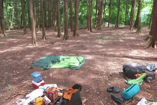 ソロキャンプに必要なテント、タープ