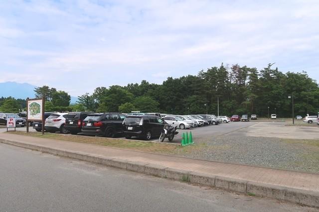 白州・尾白の森名水公園べるがの駐車場