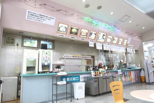 た道の駅甲斐大和内にあります飲食店の店舗