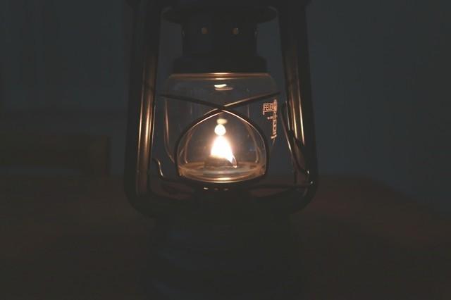 フェアハンドベイビースペシャル276の炎の様子