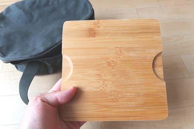 スキレット敷き(木の板)