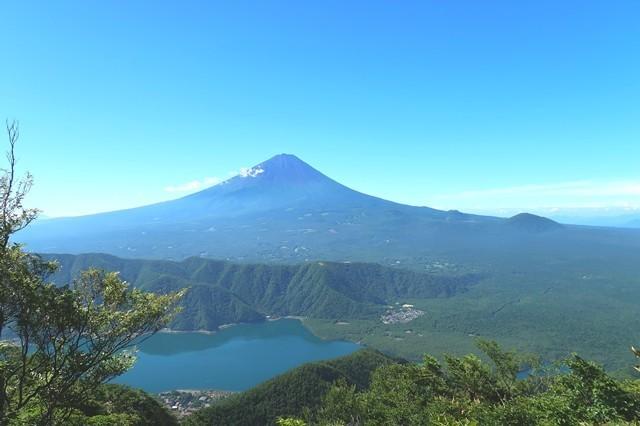 富士山方面の展望が開ける場所
