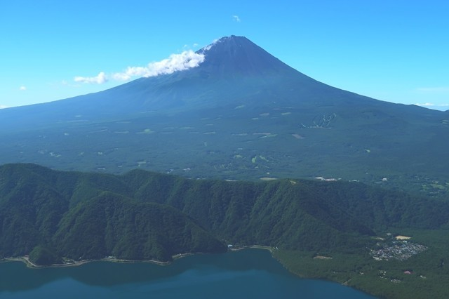 雪頭ヶ岳登山からの富士山展望