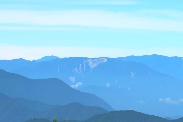 七面山の大崩れ