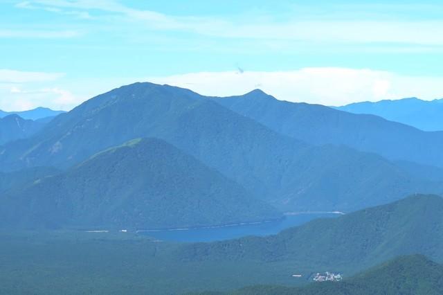 毛無山の景色と富士五湖