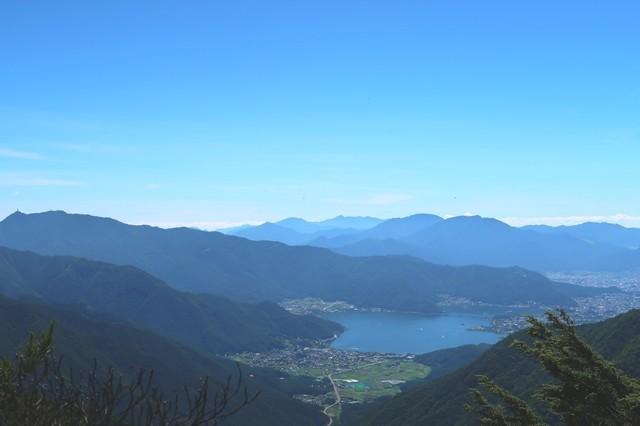 節刀ヶ岳の山頂
