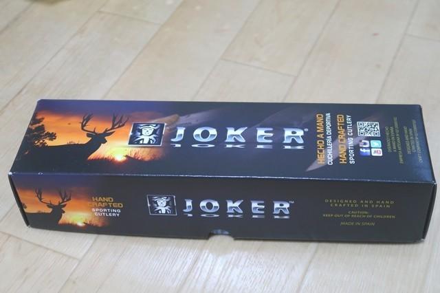 ジョーカーフルタングナイフのパッケージ