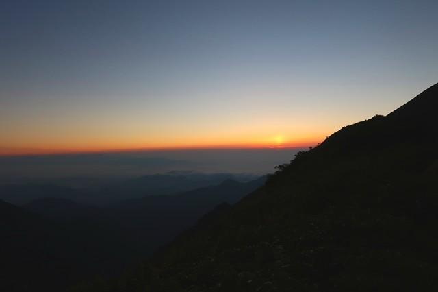 飯豊連峰の雲海