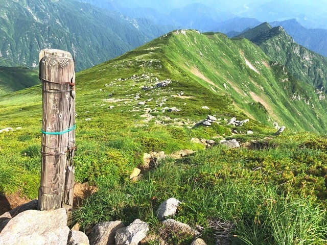 ダイグラ尾根の分岐(登山口)
