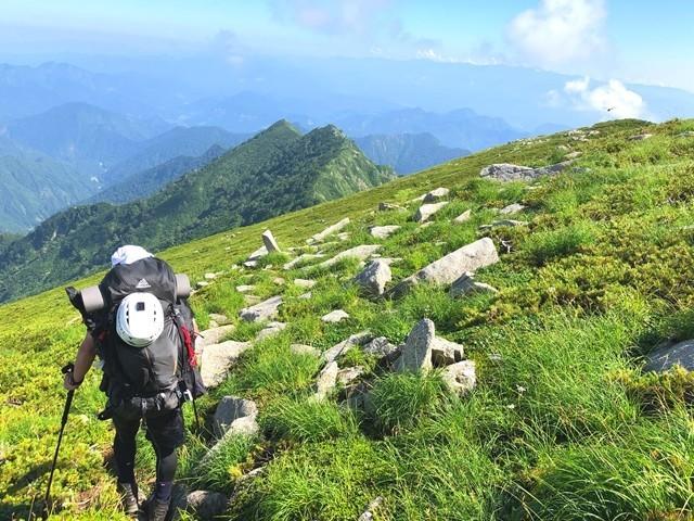 ダイグラ尾根宝珠山への登り返しルート