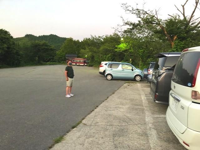 小国温泉松風館山形の駐車場