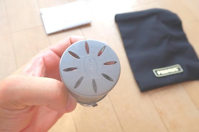 プリムスガスランタンP-541のサイズ感