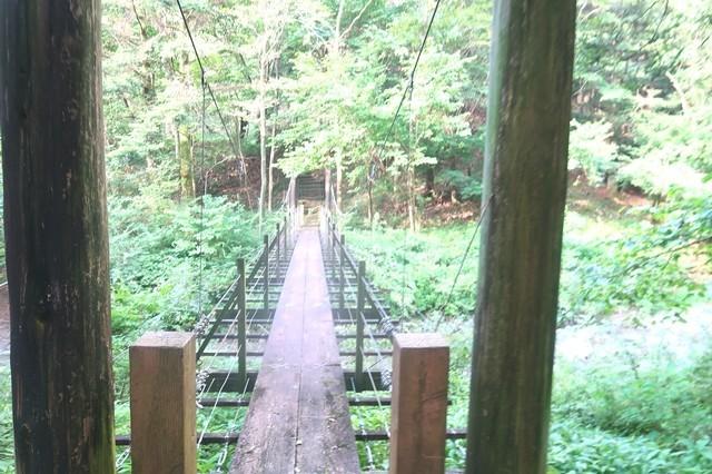 根原の吊橋