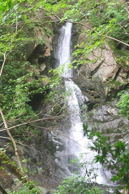 比丘尼の滝落差15m