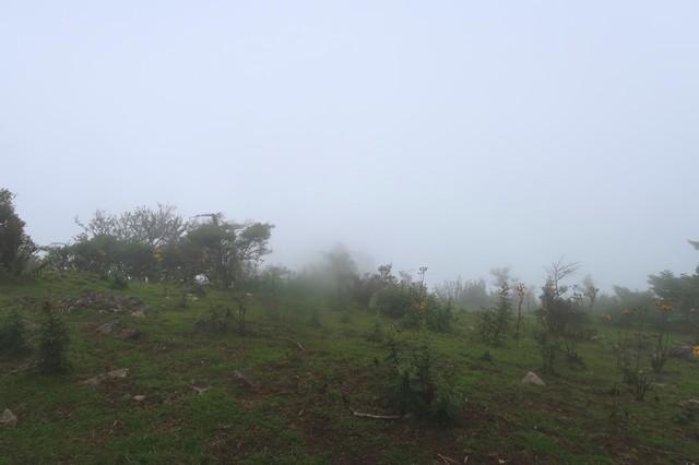 高見岳の山頂からの景色
