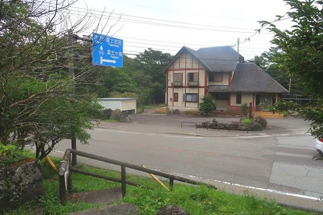 割石峠県境バス停