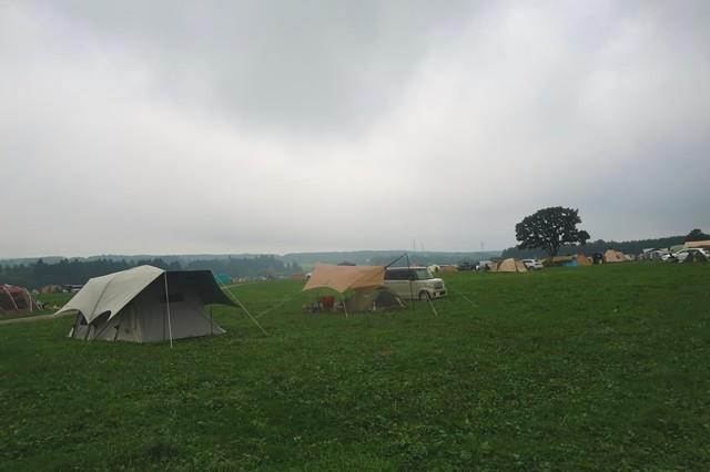 ふもとっぱらキャンプ場天気