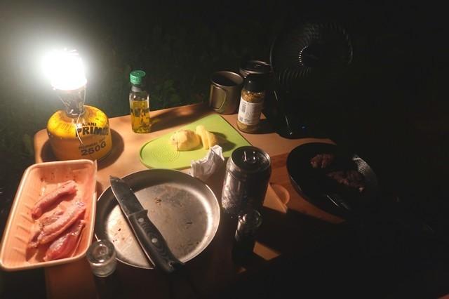 プリムスガスランタンP-541の光量の限界