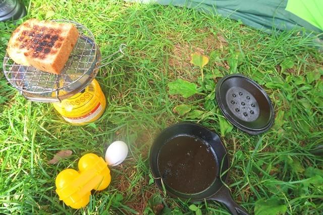 キレットとミニロースターを使って洋食作り