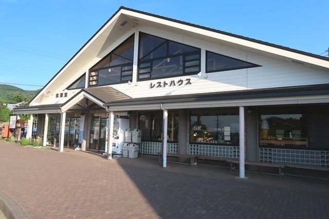 高速直通バスの発着場所の大倉バス停