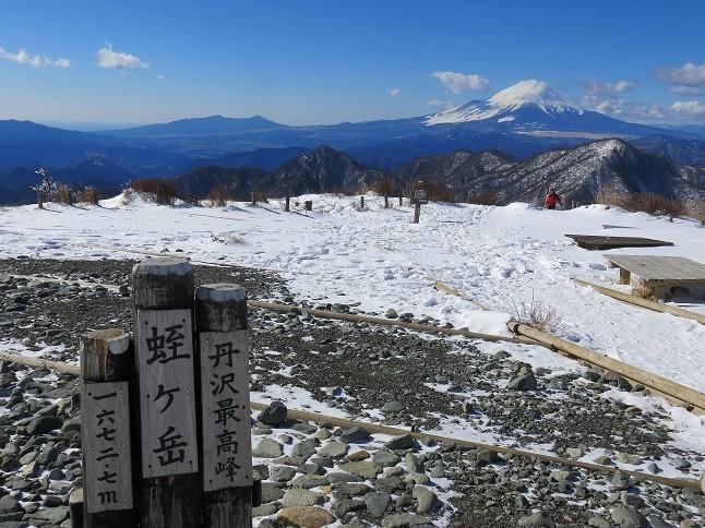 高速直通バスで登れる丹沢の山は塔ノ岳