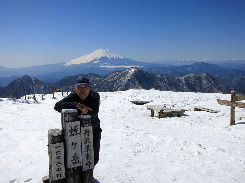 東京⇔丹沢直通高速バスだと蛭ヶ岳山頂は登れない