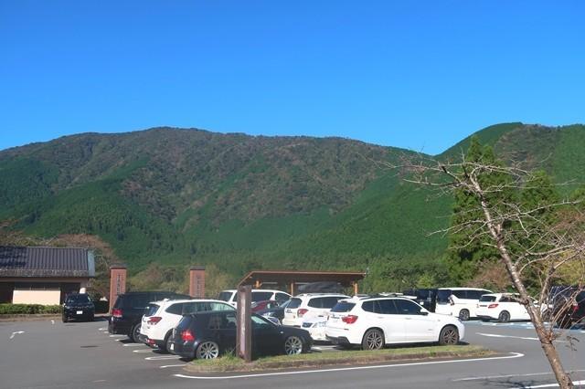 田貫湖キャンプ場南駐車場所