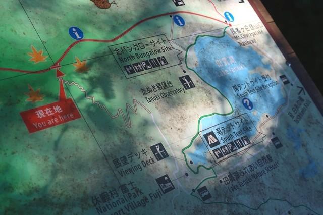 長者ヶ岳の登山ルート図