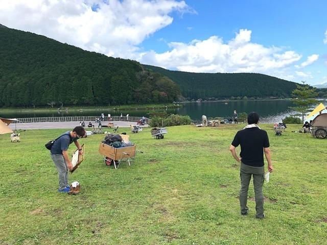 田貫湖キャンプ場のAテントサイト