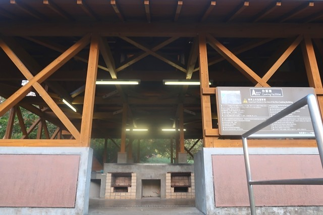 田貫湖キャンプ場の炊事場