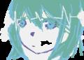 何となく女の子描こうと思ったら初音ミクっぽく成ったから、急遽変更