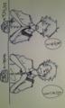 瑠璃奈さんから、小太郎と隼人!