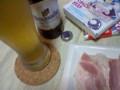 ヒューガルデン・ホワイトとアイスパイン。