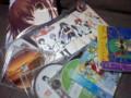 CDだらけ。
